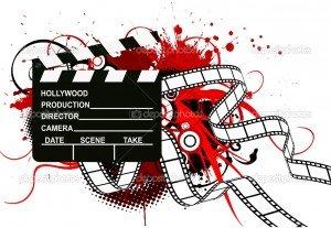 Cinéma depuis 1900 dans CINEMA FRANCAIS depositphotos_5723986-retro-cinema-theme-300x207