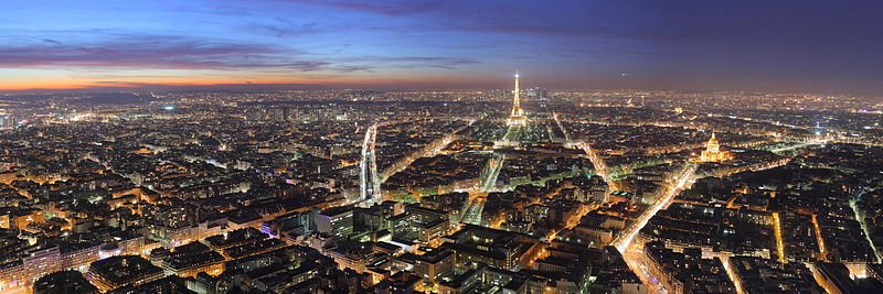 LA VILLE paris_night