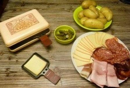Patrimoine avec les yeux de francesca gastronomie francaise - Quantite de fromage a raclette par personne ...
