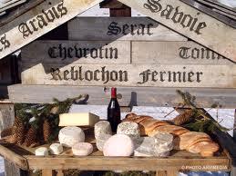 Savoie et Haute Savoie dans Les Fromages savoie