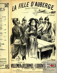 La fille d'Auberge en 1840 dans ARTISANAT FRANCAIS auberge-234x300