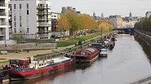 Histoire de la Vilaine dans COURS d'EAU-RIVIERES de France la_vilaine_a_rennes