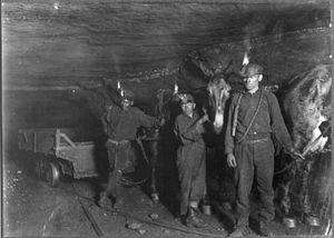 Au temps de la Mine dans Saône et Loire mines