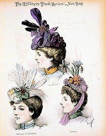 La Modiste du 19ème siècle dans ARTISANAT FRANCAIS mode1