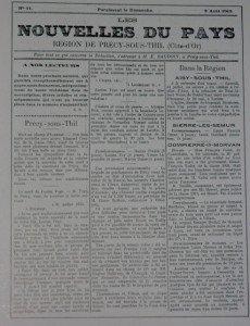 Dompierre en Morvan après la guerre dans Côte d'Or nouvelles-du-pays-230x300