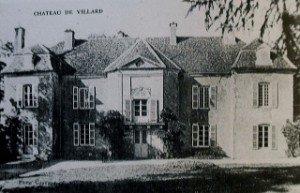 Château de Villars en Côte d'Or dans CHATEAUX DE FRANCE chateau-de-villars-300x193