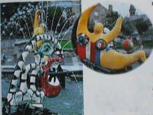 L'art moderne et l'art contemporain de Bourgogne dans Bourgogne fontaine-chateau-chinon-300x225