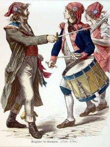 Les migrations croissantes depuis la Révolution dans AUX SIECLES DERNIERS sansculottes-225x300