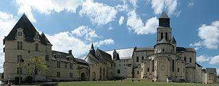 Histoire de l'Abbaye de Fontevraud   dans EGLISES DE FRANCE abbaye