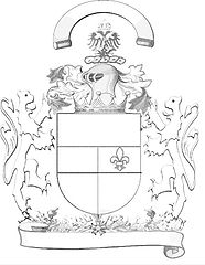 Le port des armoiries dans AUX SIECLES DERNIERS armoiries