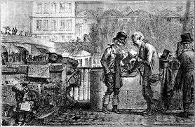 Les Bouquinistes du 19ème siècle dans ARTISANAT FRANCAIS bouquiniste
