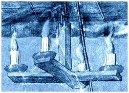 Allumer la chandelle à quatre cornes dans EXPRESSION FRANCAISE chantellle