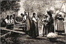 Au lavoir en ce temps-là dans LAVOIRS DE FRANCE lavoir