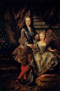 La maîtresse de Louis XV dans AUX SIECLES DERNIERS louis-15