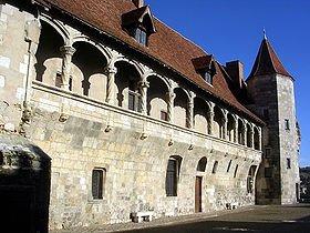Le château de Nérac dans CHATEAUX DE FRANCE nerac