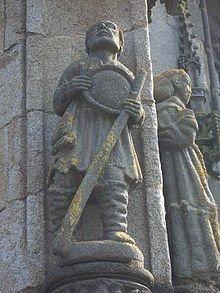 LA VIE de Salaün surnommé LE FOU dans Bretagne