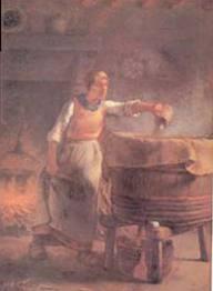 A l'époque de la lessive à la chaudière. dans LAVOIRS DE FRANCE images-7