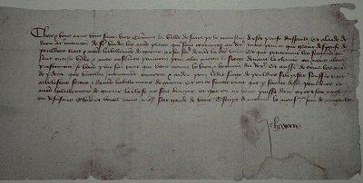Lettre aux habitants de Riom dans LITTERATURE FRANCAISE 800px-lettre_de_jeanne_darc_aux_riomois