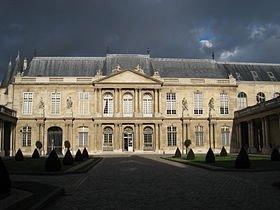 hotel_de_soubise_-_exterior_view dans Paris