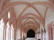 A l'abbaye de Cîteaux en Côte d'Or dans Côte d'Or 220px-abbaye_de_citeaux_galerie_du_cloitre