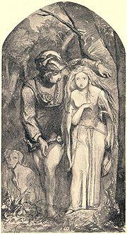 180px-Dante_Gabriel_Rossetti_-_La_Belle_Dame_sans_Merci,_1848