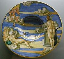 220px-C.sf.,_urbino,_francesco_xanto_avelli,_tondino_con_allegoria_del_nuovo_anno,_1530
