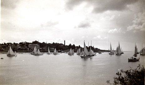 Arrivée_course_croisière_à_Bénodet_en_aout_1936