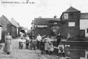 cartes-postales-photos-La-Rue-du-Sac-CORMEILLES-60120-60-60163008-maxi