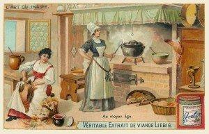 Cuisine Moyen-Age