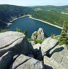 Lac_Blanc_et_Rocher_Hans_depuis_le_chaos_de_pierres
