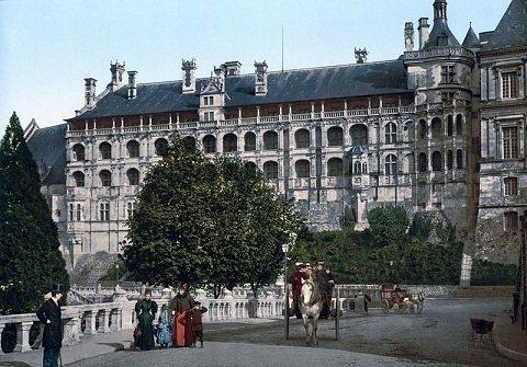 Au chateau de blois